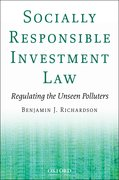 Cover for Socially Responsible Investment Law