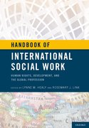 Cover for Handbook of International Social Work