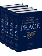 Cover for The Oxford International Encyclopedia of Peace