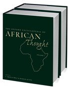Cover for The Oxford Encyclopedia of African Thought
