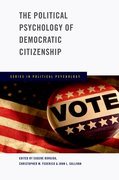 Cover for The Political Psychology of Democratic Citizenship