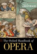 Cover for The Oxford Handbook of Opera