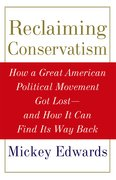 Cover for Reclaiming Conservatism