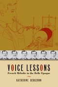 Cover for Voice Lessons