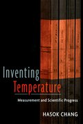 Cover for Inventing Temperature