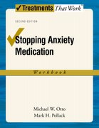 Cover for Stopping Anxiety Medication Workbook