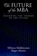 Cover for The Future of the MBA