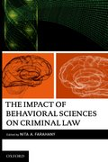 Cover for The Impact of Behavioral Sciences on Criminal Law