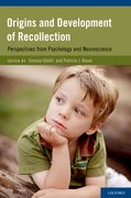 Cover for Origins and Development of Recollection