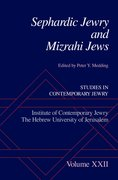 Cover for Sephardic Jewry and Mizrahi Jews