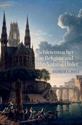 Cover for Schleiermacher on Religion and the Natural Order