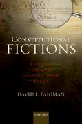 Cover for Constitutional Fictions