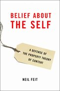 Cover for Belief about the Self