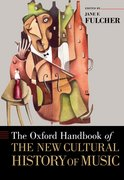 Cover for The Oxford Handbook of the New Cultural History of Music