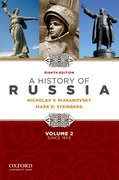 Cover for A History of Russia since 1855 - Volume 2