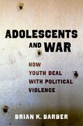 Cover for Adolescents and War