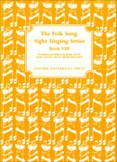 Cover for Folk Song Sight Singing Book 8