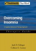 Cover for Overcoming Insomnia