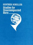 Cover for Studies for unaccompanied horn