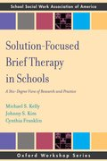 Cover for Solution Focused Brief Therapy in Schools