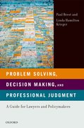 Cover for Problem Solving, Decision Making, and Professional Judgment