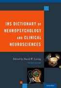 Cover for INS Dictionary of Neuropsychology and Clinical Neurosciences