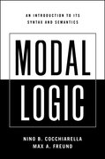 Cover for Modal Logic