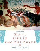 Cover for Handbook to Life in Ancient Egypt Revised