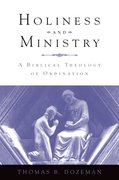 Cover for Holiness and Ministry