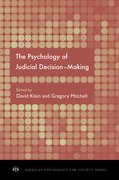 Cover for The Psychology of Judicial Decision Making