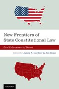 Cover for New Frontiers of State Constitutional Law