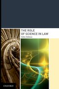 Cover for The Role of Science in Law