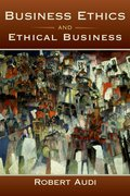 Cover for Business Ethics and Ethical Business