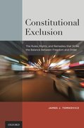 Cover for Constitutional Exclusion