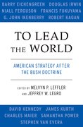 Cover for To Lead the World