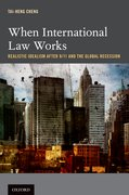 Cover for When International Law Works