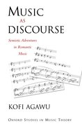 Cover for Music as Discourse