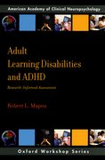 Cover for Adult Learning Disabilities and ADHD: Research-Informed Assessment