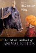 Cover for The Oxford Handbook of Animal Ethics