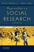 Cover for Approaches to Social Research