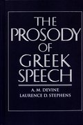 Cover for The Prosody of Greek Speech