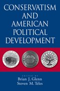Cover for Conservatism and American Political Development
