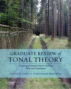 Cover for Graduate Review of Tonal Theory