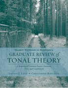 Cover for Student Workbook to Accompany Graduate Review of Tonal Theory