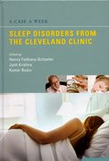 Cover for A Case a Week: Sleep Disorders from the Cleveland Clinic