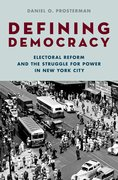Cover for Defining Democracy