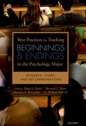 Cover for Best Practices for Teaching Beginnings and Endings in the Psychology Major