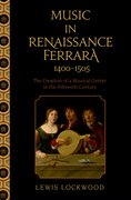 Cover for Music in Renaissance Ferrara 1400-1505