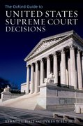 Cover for The Oxford Guide to United States Supreme Court Decisions