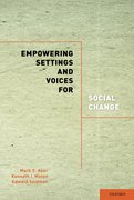 Cover for Empowering Settings and Voices for Social Change